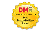2012 Disabled Motoring UK Award
